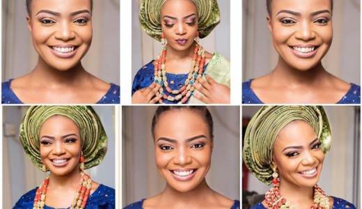 Nigerian Traditional Bridal Inspiration LoveweddingsNG feat