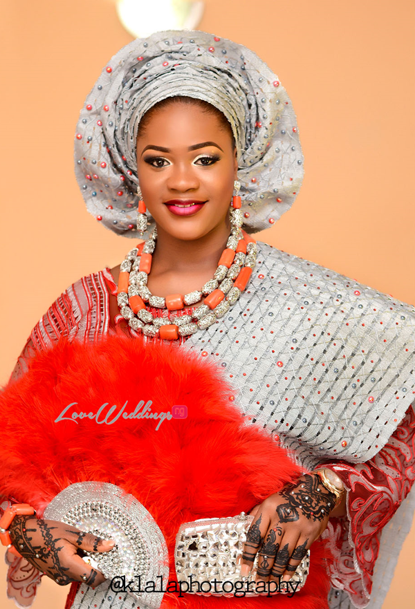 Nigerian Traditional Bride Rasheedat and Kamaldeen LoveweddingsNG Klala Photography 1