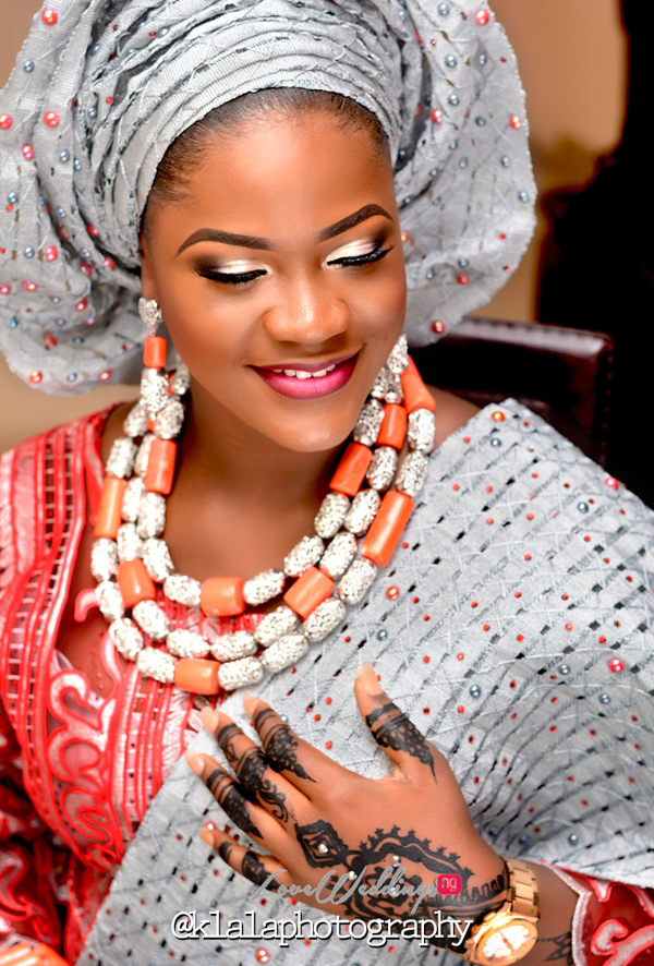 Nigerian Traditional Bride Rasheedat and Kamaldeen LoveweddingsNG Klala Photography