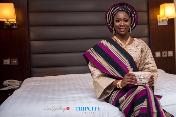 Nigerian Traditional Bride Tunde and Simi LoveweddingsNG Trip City Visuals