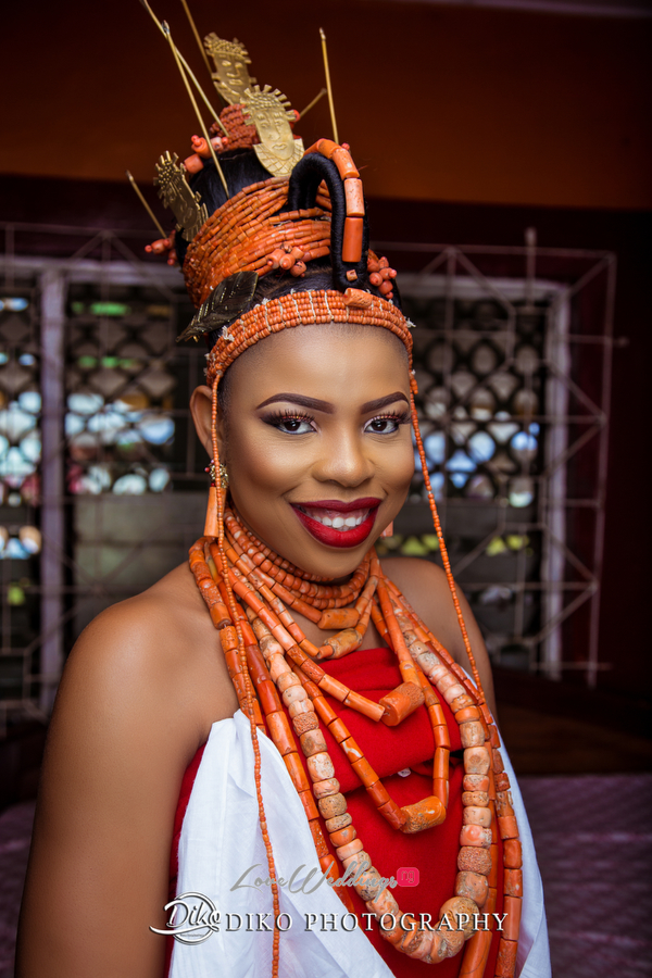 Nigerian Traditional Bride Zandra and Henry Diko Photography LoveweddingsNG 1