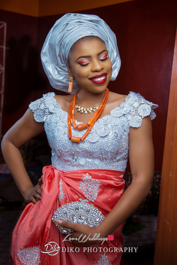 Nigerian Traditional Bride Zandra and Henry Diko Photography LoveweddingsNG 5