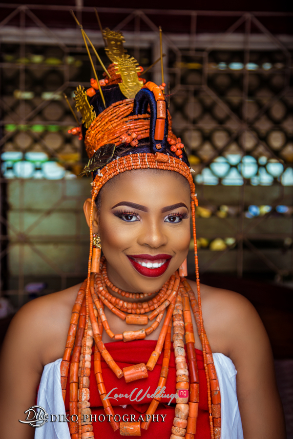 Nigerian Traditional Bride Zandra and Henry Diko Photography LoveweddingsNG