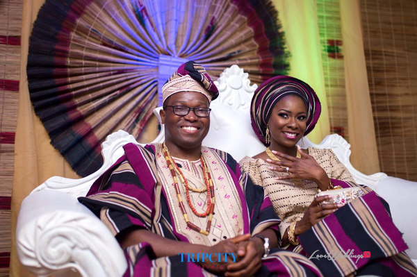 Nigerian Traditional Couple Tunde and Simi LoveweddingsNG Trip City Visuals