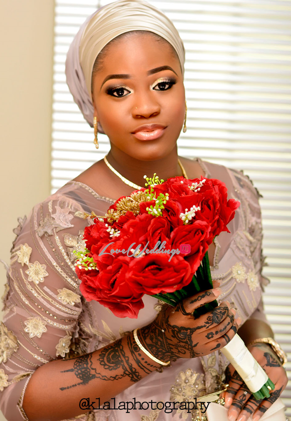 Nigerian Traditional Wedding Rasheedat and Kamaldeen LoveweddingsNG Klala Photography Bouquet