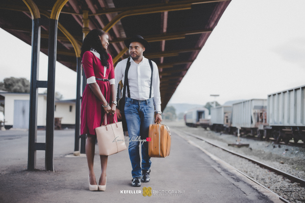 Nigerian Vintage Engagement Shoot LoveweddingsNG Kefeller Works 2