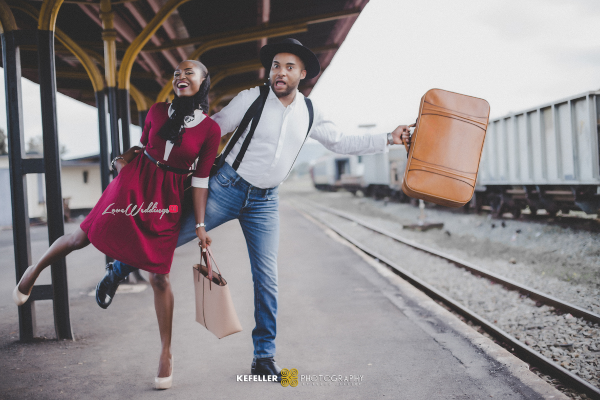 Nigerian Vintage Engagement Shoot LoveweddingsNG Kefeller Works 3