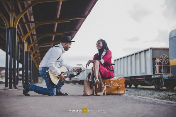 Nigerian Vintage Engagement Shoot LoveweddingsNG Kefeller Works 4