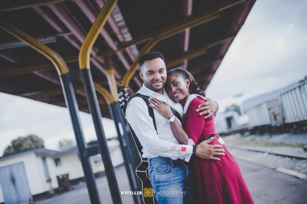 Nigerian Vintage Engagement Shoot LoveweddingsNG Kefeller Works 7