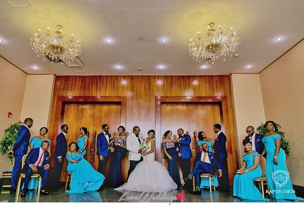 Nigerian Wedding Chidinma and Chuka #DimmyChu16 LoveweddingsNG Bridal Train
