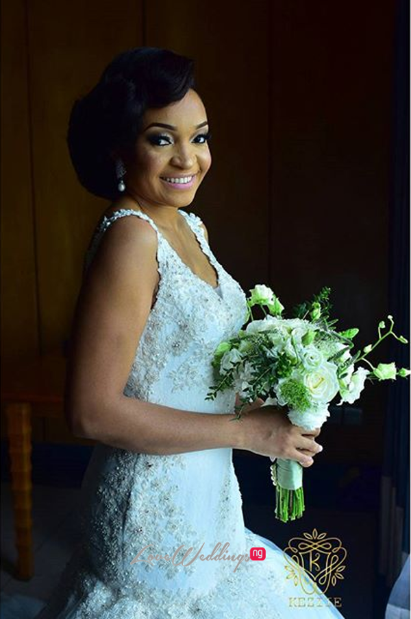 Nigerian Wedding Chidinma and Chuka #DimmyChu16 LoveweddingsNG Bride Bouquet 2