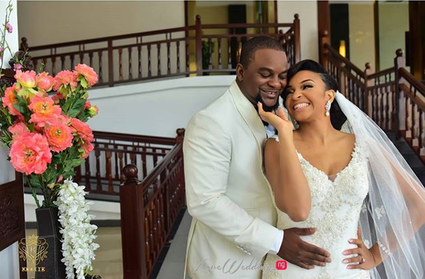 Nigerian Wedding Chidinma and Chuka #DimmyChu16 LoveweddingsNG Bride and Groom