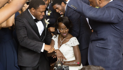 Nigerian Wedding Couple Dancing Joy and Ifeanyi Perfect Events LoveweddingsNG