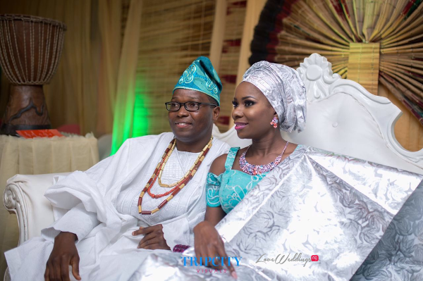 Nigerian Yoruba Traditional Couple Tunde and Simi LoveweddingsNG Trip City Visuals 1