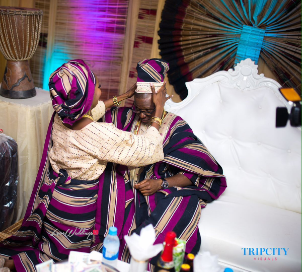 Nigerian Yoruba Traditional Couple Tunde and Simi LoveweddingsNG Trip City Visuals
