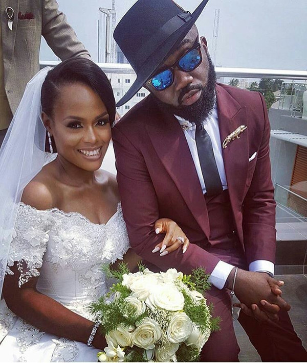Noble Igwe Chioma Otisi Nigerian Celebrity Wedding LoveweddingsNG 2