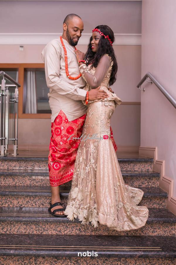 Nollywood Kalu Ikeagwu and Ijeoma Eze Traditional Wedding Nobis Photography LoveweddingsNG 6