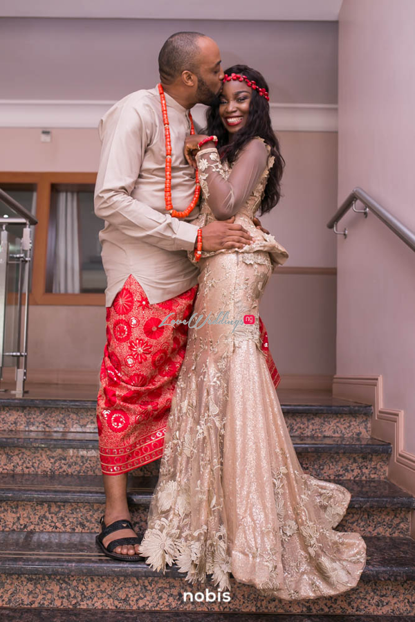 Nollywood Kalu Ikeagwu and Ijeoma Eze Traditional Wedding Nobis Photography LoveweddingsNG 7