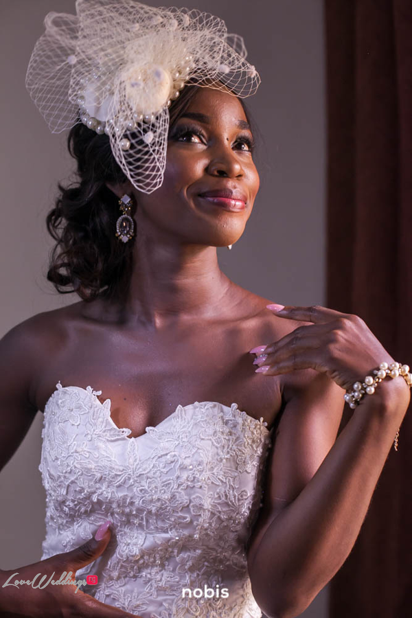 Nollywood Kalu Ikeagwu and Ijeoma Eze White Wedding Nobis Photography LoveweddingsNG