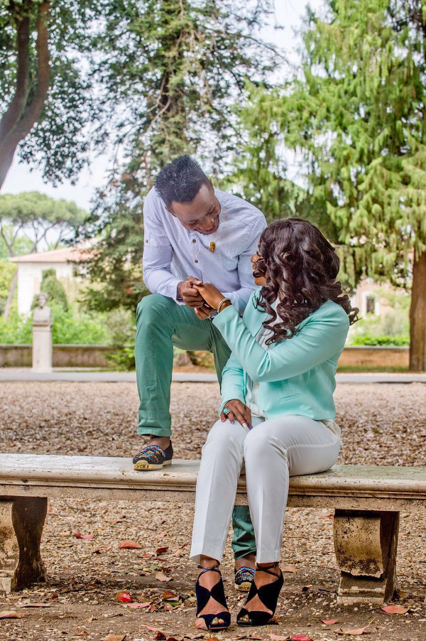 Onazi Ogenyi Sandra Ogunsuyi Pre Wedding Photos LoveweddingsNG 3