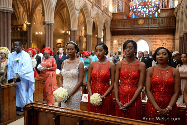 Sarah Ikeobi Nigerian Wedding Anne Welsh Bridesmaids Special Functions Films LoveweddingsNG 1