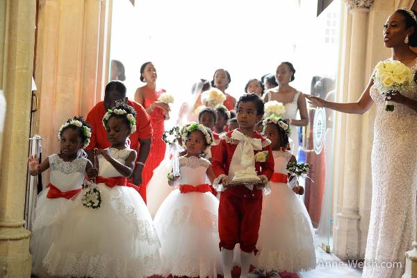 Sarah Ikeobi Nigerian Wedding Little Bridal Party Special Functions Films LoveweddingsNG 1