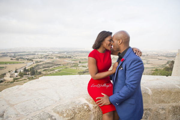 Sena Morts n More and Hope Vanilla Orchid Bakery PreWedding Shoot Malta LoveweddingsNG 4