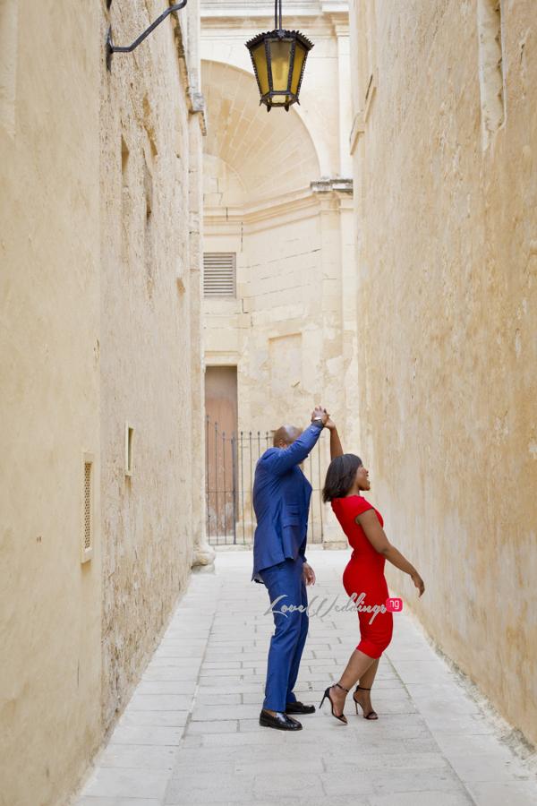 Sena Morts n More and Hope Vanilla Orchid Bakery PreWedding Shoot Malta LoveweddingsNG 9