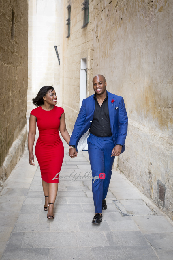 Sena Morts n More and Hope Vanilla Orchid Bakery PreWedding Shoot Malta LoveweddingsNG
