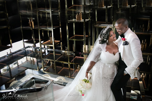 Tolu Oniru and Tunde Demuren Dubai Wedding Wani Olatunde LoveweddingsNG TSquared Bride and Groom