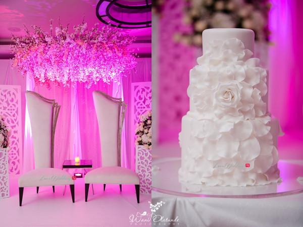 Tolu Oniru and Tunde Demuren Dubai Wedding Wani Olatunde LoveweddingsNG TSquared Decor and Cake