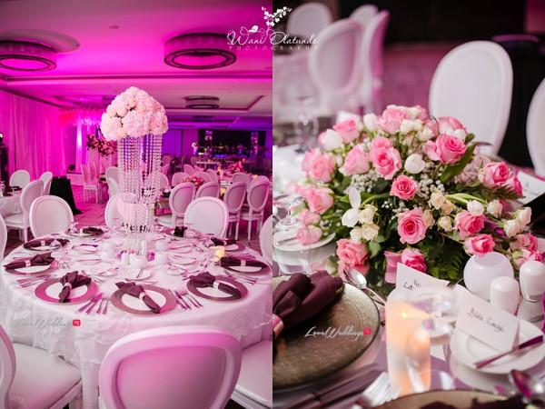 Tolu Oniru and Tunde Demuren Dubai Wedding Wani Olatunde LoveweddingsNG TSquared Decor