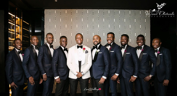 Tolu Oniru and Tunde Demuren Dubai Wedding Wani Olatunde LoveweddingsNG TSquared Groomsmen