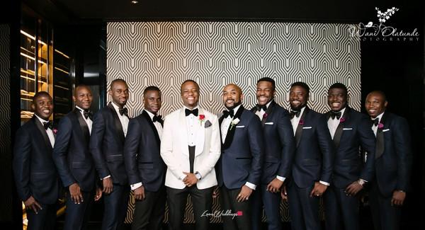 Tolu Oniru and Tunde Demuren Dubai Wedding Wani Olatunde LoveweddingsNG TSquared Groomsmen