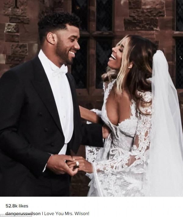 Ciara Russell Wilson Wedding Pictures LoveweddingsNG 7