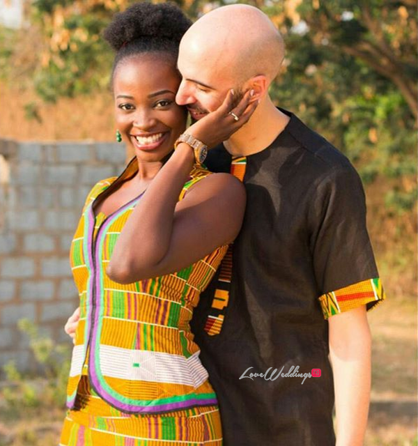Esther and Kyrillos Yoruba Greek PreWedding Sculptors Event Planners LoveweddingsNG