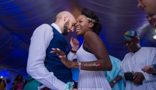 Esther and Kyrillos Yoruba Greek Wedding Bride and Groom Dance Sculptors Event Planners LoveweddingsNG 1