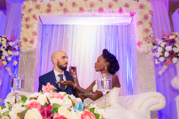 Esther and Kyrillos Yoruba Greek Wedding Sculptors Event Planners LoveweddingsNG 2