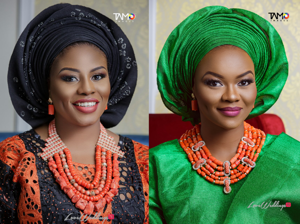 Liz Awoliyi Osho and Kehinde Bankole Artsmith Collections LoveweddingsNG