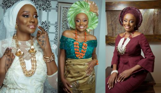 Michelle Dede Hausa, Ibo, Yoruba Bride LoveweddingsNG