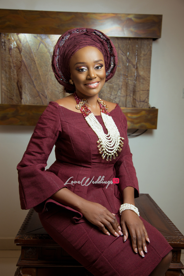 Michelle Dede Yoruba Bride LoveweddingsNG