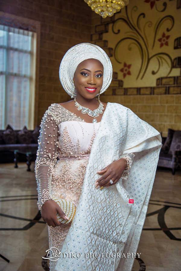 Nigerian Traditiona Bride Kenny LoveweddingsNG Diko Photography 3