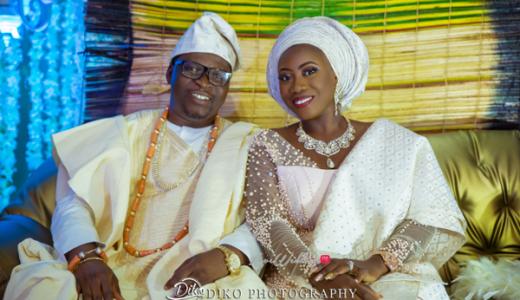 Nigerian Traditiona Bride and Groom Kenny and Kunle LoveweddingsNG Diko Photography