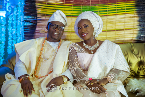 Nigerian Traditiona Bride and Groom Kenny and Kunle LoveweddingsNG Diko Photography
