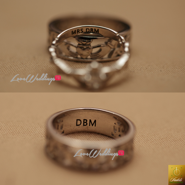 Nigerian White Wedding Ring Seyi and Bisola DBM Pictures LoveweddingsNG 1