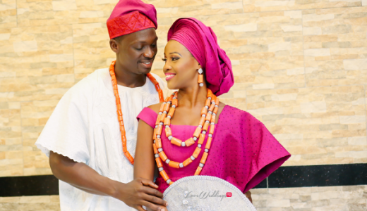Tomi Odunsi and Seun Fadina Nigerian Traditional Wedding BLawz LoveweddingsNG 2