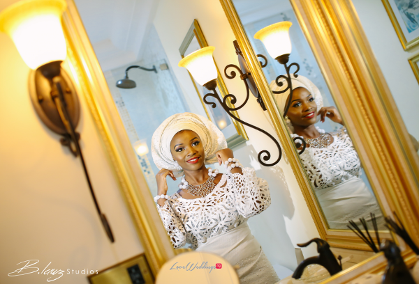 Tomi Odunsi and Seun Fadina Nigerian Traditional Wedding BLawz LoveweddingsNG