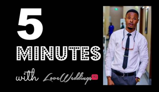 5 Minutes With Jide Oketonade Photography LoveweddingsNG