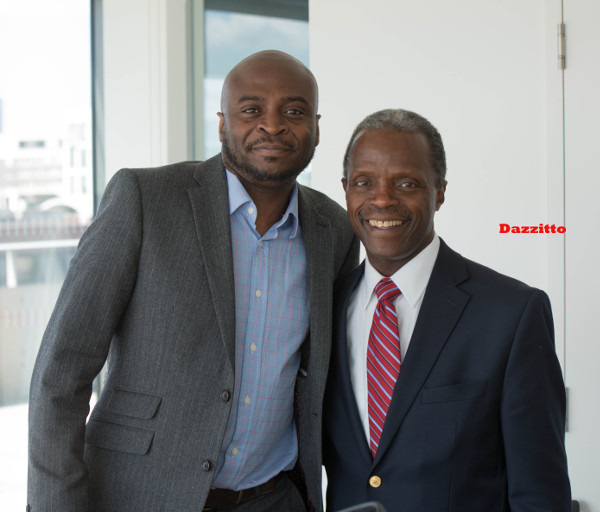 Dayo Dazzitto Photography with Nigerian Vice President Yemi Osinbajo LoveweddingsNG