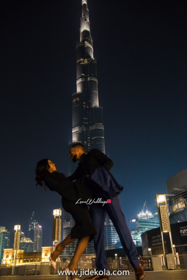 Dubai PreWedding Shoot Burj Khalifa Frankeen2016 Jide Kola LoveweddingsNG 1